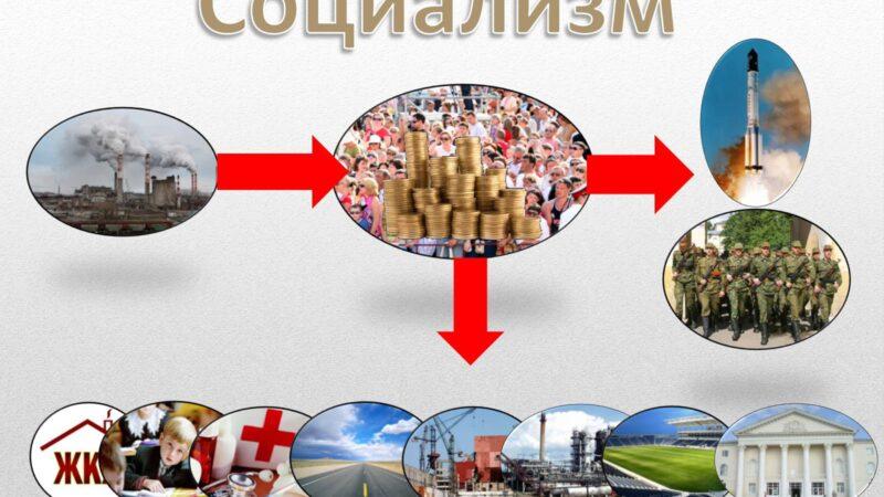 Социализм. Из книги А.Рязанов «Народный социализм»